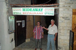 The Hideaway Restaurant in Pissouri