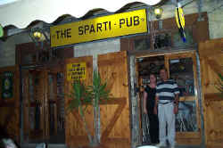 The Sparti pub in Pissouri